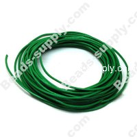 Leather Cord 2mm,Green