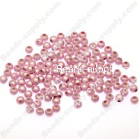 Miracle Beads Round 4mm , Pink