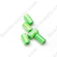 Wood Tube Bead 4x8mm